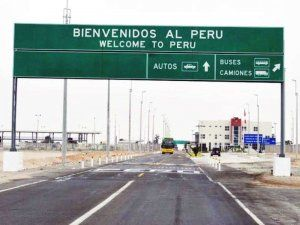 Peruvian Border Crossing